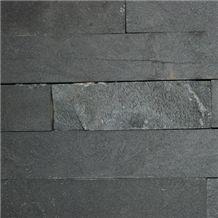 Granite Wall Cladding Panels, Pohorski Tonalit Black Granite Wall Cladding