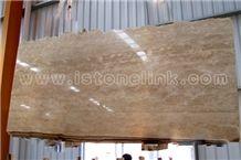 Crema Travertine, China Beige Travertine Slabs & Tiles