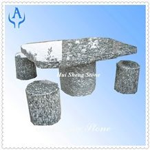 Granite Grey Garden Table Chair Set, Grey Granite