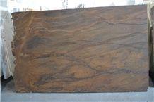 Bronzite Exotic Granite Slabs, Brazil Brown Granite