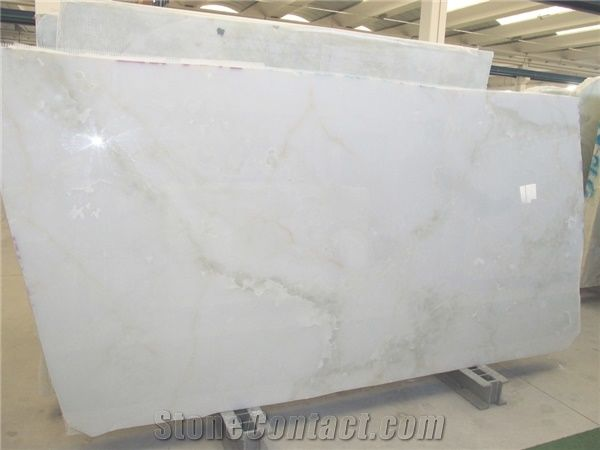 White Persian Snow Onyx Slabs From Italy 225850