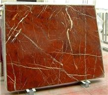 Rosso Diaspro Marble Slabs, Italy Red Marble