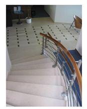 Adria Unito Stairs, Adria Grigio Unito Beige Limestone Stairs