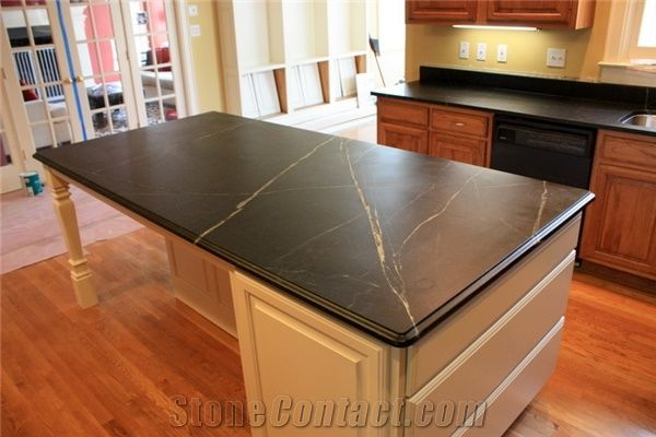Black Minas Soapstone Countertop From United States