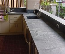 Outdoor Soapstone Countertops, Minas Green Soapstone Countertops
