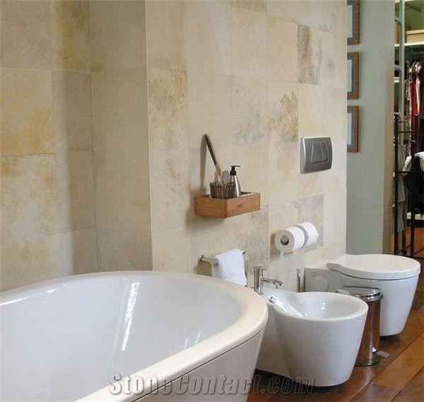 Solnhofen Stone Bathroom Wall Tiles