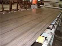Athens Wood Chinese Marble Slab & Tile, Athen Grey Marble,Polished China Grey Marble for Wall Panel,Flooring