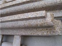 G682 Granite Bullnose Molding,China Yellow Granite Moulding
