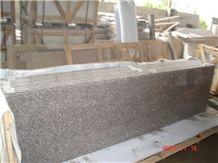 G687 Granite Countertops,China Pink Granite Kitchen Island Top