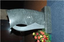 Monument Stones, Sira Grey Granite Monument