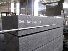 Black Basalt G684 Kerbstone