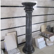 China Black and White Marble Columns