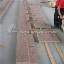 China Red Granite Paver, Granite Coping, Tianshan