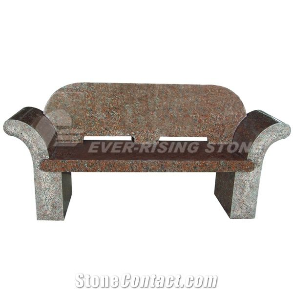 Pleasing Maple Red Granite Memorial Bench From China Ibusinesslaw Wood Chair Design Ideas Ibusinesslaworg