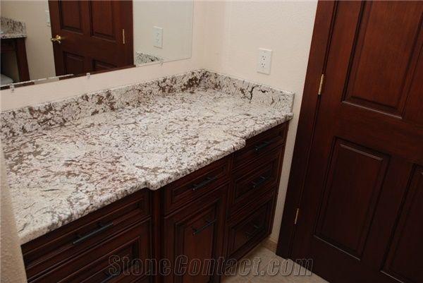 Bianco Antico Granite Bathroom Top Bianco Antico White