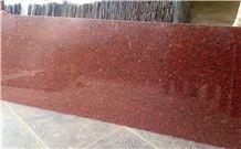 Imperial Red Polished Slab Granite Slabs