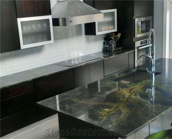Victoria Regia Quartzite Kitchen Countertops Vitoria
