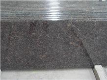Golden Diamond Grain Brown Granite Countertop