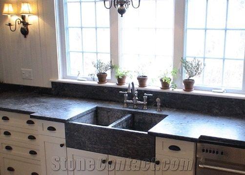 soapstone sinks wash basin mirasol forest grey soapstone wash basin - Soapstone Sink