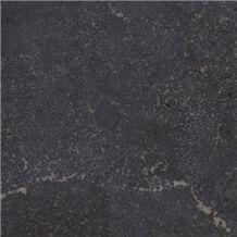 Manchu Caviar Limestone Tile, China Black Limestone
