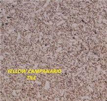Amarillo Campanario Granite Tiles, Yellow Campanario Granite