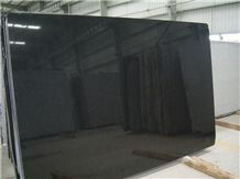 China Absolute Black Granite Slabs