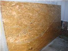 Imperial Gold Granite Slab, India Yellow Granite