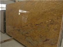 Madura Gold Granite Slab, India Yellow Granite