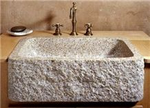Natural Stone Sinks, Beige Granite Sinks