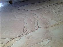 Misty Sandstone Tile, China Brown Sandstone