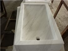 White Marble Sink