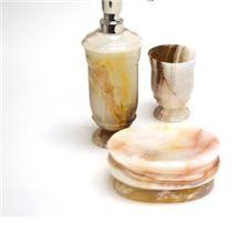Pakistan White Onyx Soap Dish