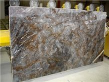Autumn Gray Polished Marble Slab
