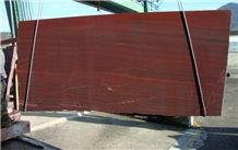 Iron Red Polished Marble Slab