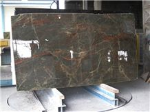 MAJESTIC BROWN POLISHED MARBLE SLAB