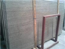 Coffee Wooden Marble Slabs, Coffee Wood Grain Marble