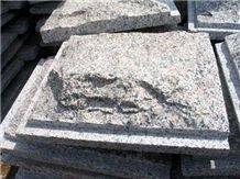 Granite Mushroom Stone for Walling, G641 Grey Granite Mushroom Stone