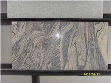 China Juparana Granite Sandwave Granite Tile