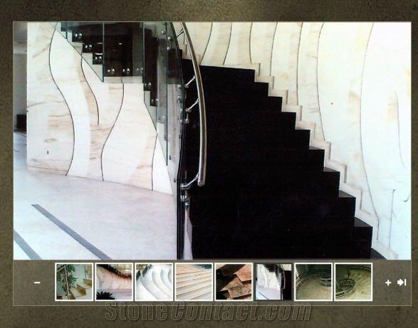 Nero Assoluto Zimbabwe , Nero Assoluto Granite Stairs Nero Assoluto China Black Granite