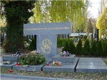 Vahlovice Grey Granite Monument