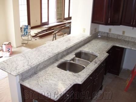 White Granite Kitchen Bench Top Nepal White Granite Bench