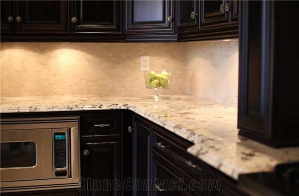 Bianco Alaska White Granite Countertop From Canada