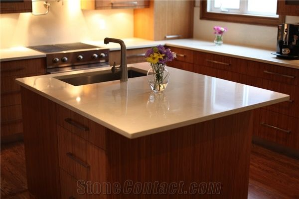 Solid Surface Kitchen Island Countertop From Canada