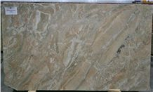 Breccia Oniciata Marble Slabs, Italy Yellow Marble