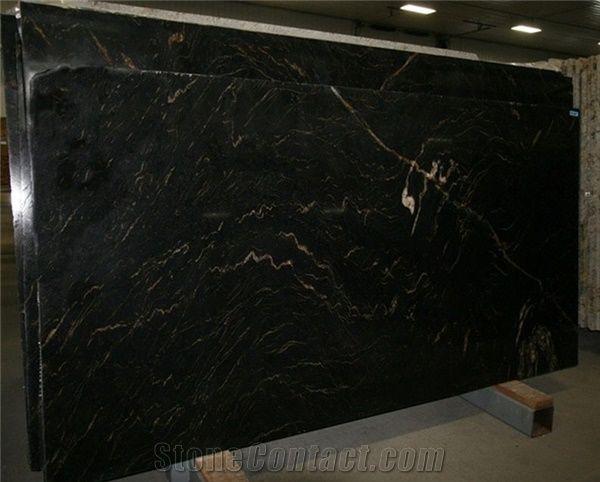 Titanium Granite Slabs Brazil Black Granite From United