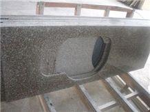 G664 Granite Kitchen Countertops,China Red Granite Kitchen Countertops