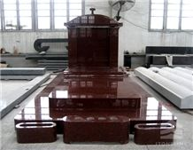 Africa Red Monument Stone, Granite Tombstone