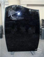 Black Galaxy Granite Monument