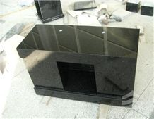 Black Galaxy Granite Urns