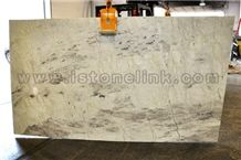 Cristallo Quartzite, White Quartzite Slab